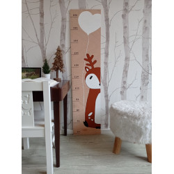 Jelínek - dětský metr na zeď