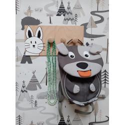 Kočička - dětský věšák na zeď (detail)