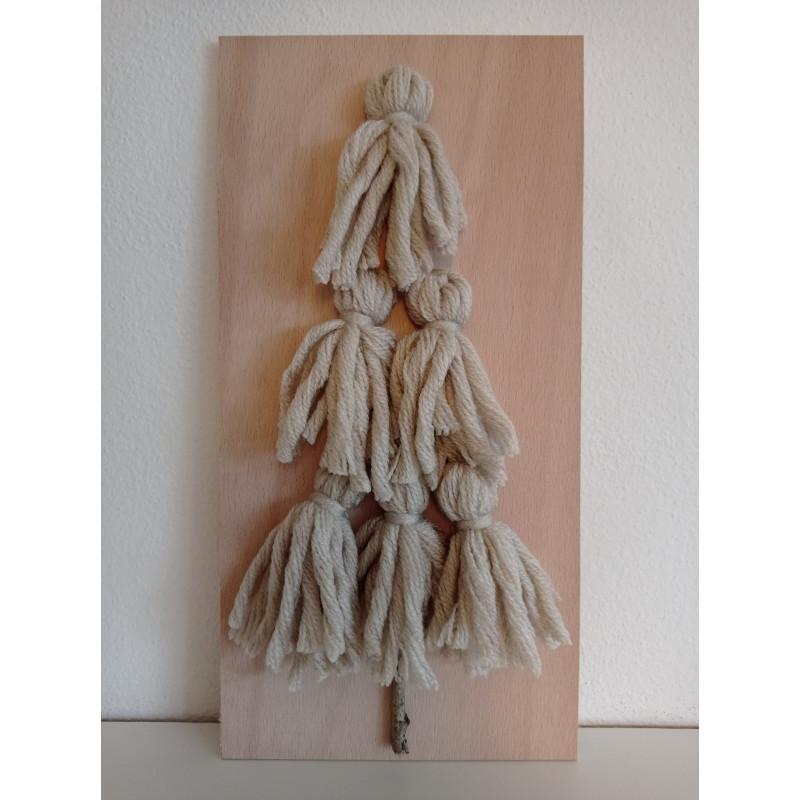 Stromeček z vlny - přírodní