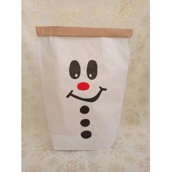 Sněhulák - papírový pytel