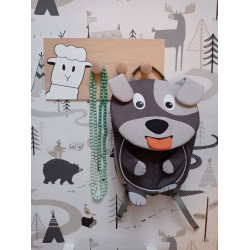 Ovečka - dětský věšák na zeď (detail)