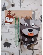 Dětské věšáky na zeď - zvířátkové motivy